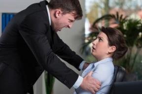 Angry and Abusive Man