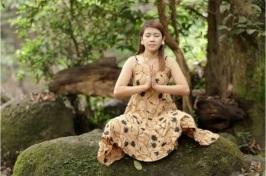 Meditation Asian Woman