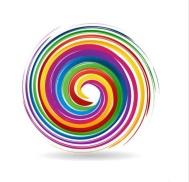 colored spiral