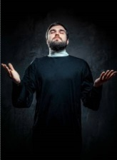 Man Invoking God