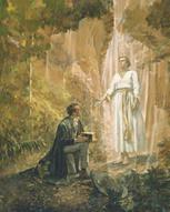 Joseph Smith and Moroni