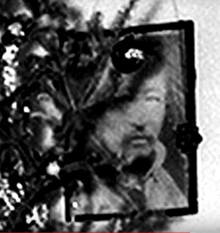 Photo of Tibetan on Alice Bailey's Wall